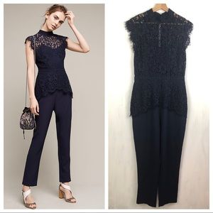Anthropologie Elevenses Cesarine Lace Jumpsuit 12